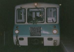 27.09.1998 die letzte Fahrt