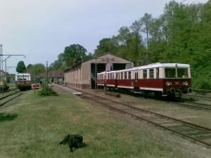 Bahnhof Buckow im Jahr 2006. Foto A.Hauschild