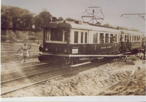 Eröffnungszug in Dahmsdorf-Müncheberg am 15.Mai1930