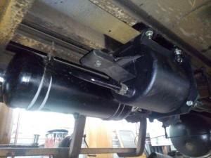 Bremszylinder und R-Behälter