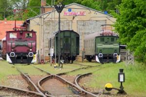 Auch in Buckow werden alle Gleise benötigt. Foto: D.Gottschalk